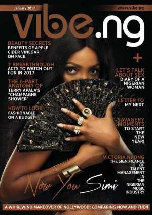 PHOTOS: Simi Covers Vibe Magazine